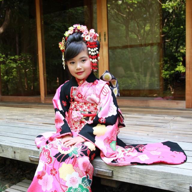 日本髪&かんざしで古風に装う