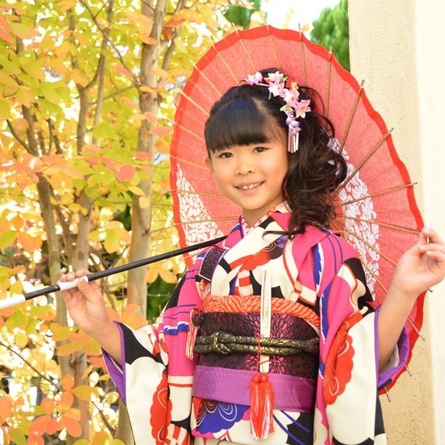 紅葉の季節に写真撮影(^^♪