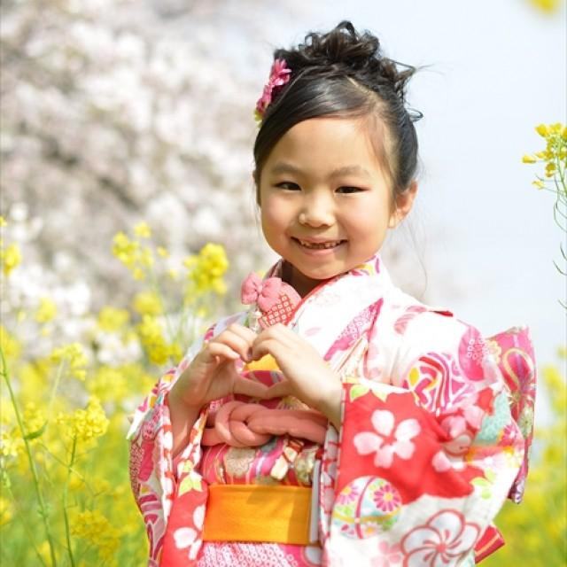 桜×七五三5