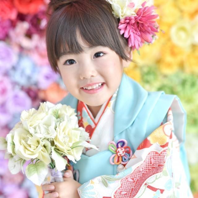 七五三3歳 かわいい笑顔で写真を残そう 写真館絹屋熊谷店