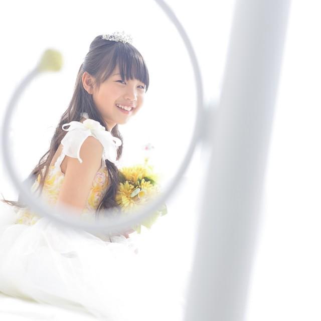 1/2成人式 お姫様気分で写真撮影♪