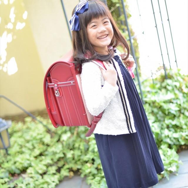入学写真も七五三前撮りと同時撮影OK!