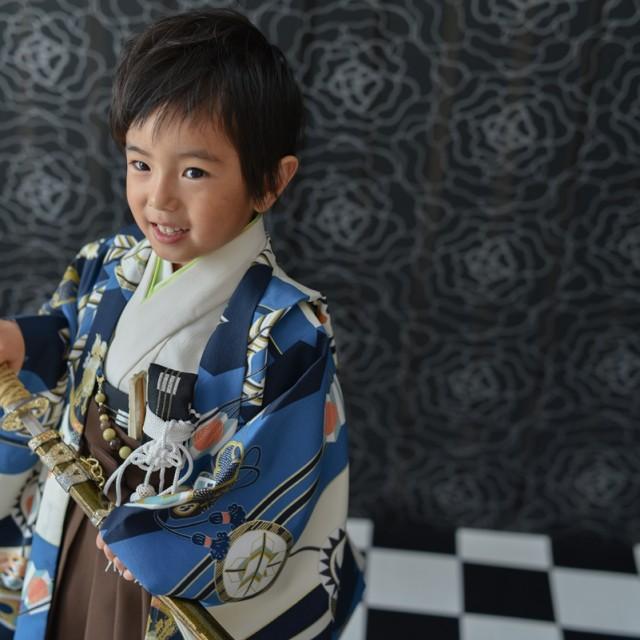 七五三 5歳 かっこいい写真でアルバムを作ろう 熊谷店