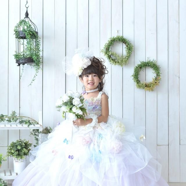 七五三3歳 新作ドレスでナチュラルかわいい写真を残そう キャンペーン実施中 写真館絹屋熊谷店
