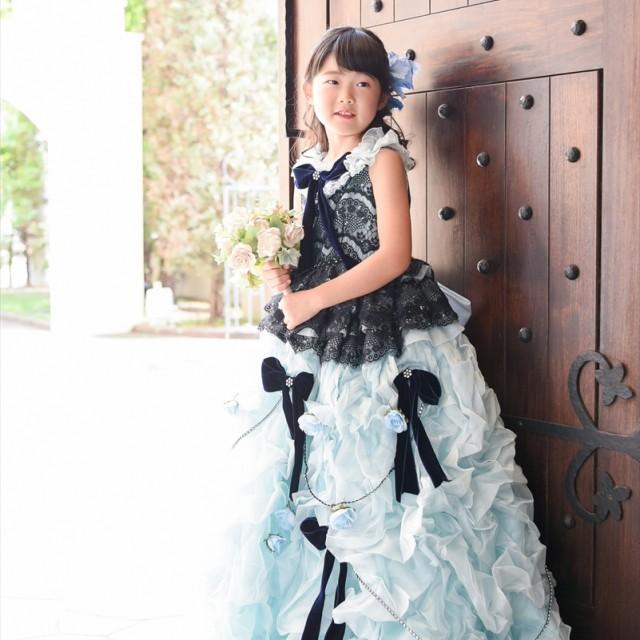 七五三7歳 洋装ドレスロケ 洋館でロケーション撮影がGOOD♪