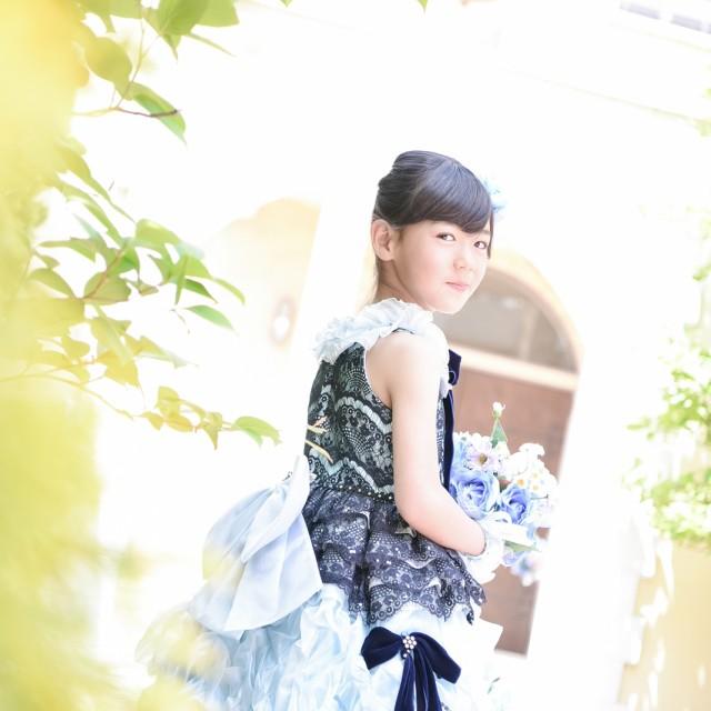七五三7歳 ドレスでロケーション撮影