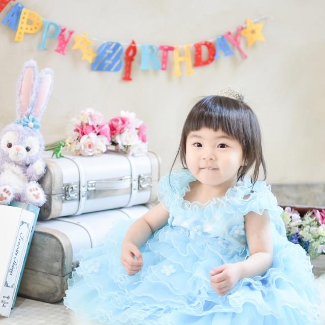2歳のbirthday photo❤︎