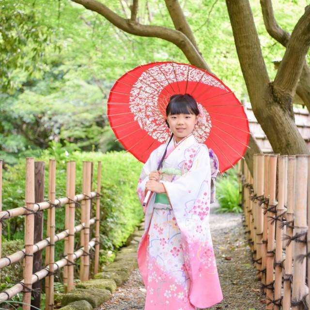 ☆日本庭園で撮影☆