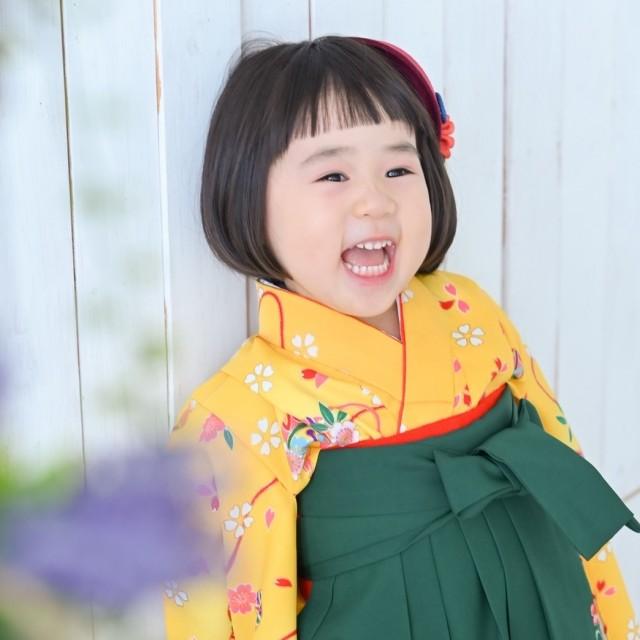 ☆3歳袴姿☆